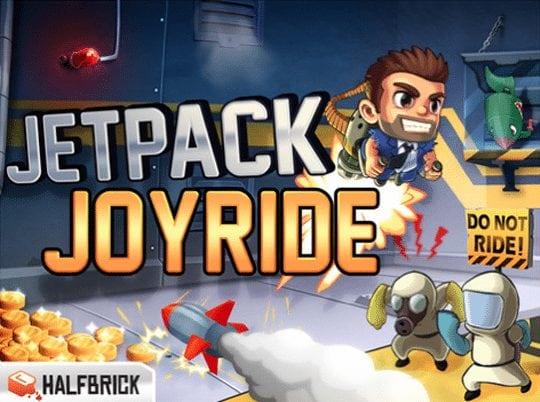 iOS Game of the week: Jetpack Joyride