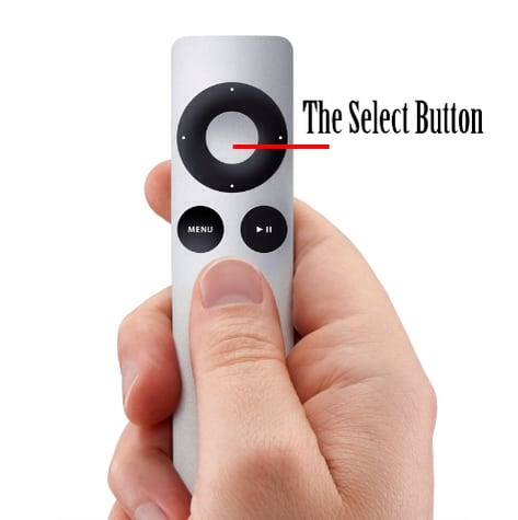 The Power Of The Select Button On The AppleTV Remote