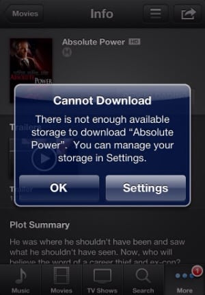 I Cannot Download Apps, iTunes Purchases, Or Operating System Updates On My iOS Device
