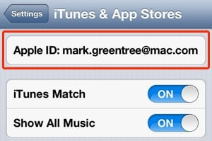 Change Your iTunes Store And App Store Account Details Via iOS