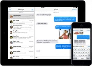 iMessage problems in iOS 7 work around fixes