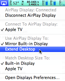 Extend Your Desktop With The Apple TV   mac-fusion