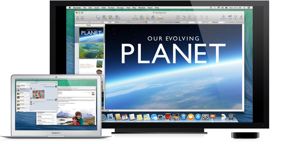 Extend Your Desktop With The Apple TV