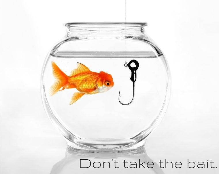 Don't take the bait.