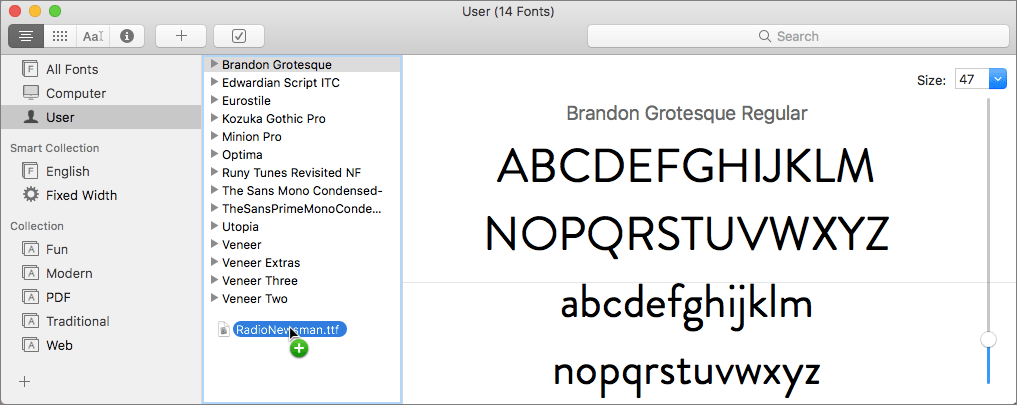 How to Install Fonts into Font Book | mac-fusion