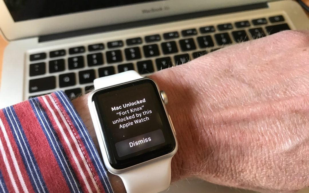 How to Unlock Your Mac with a Wave of Your Hand (well, Apple Watch)